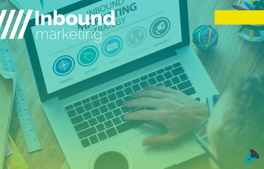 Na imagem, as fases do inbound marketing.