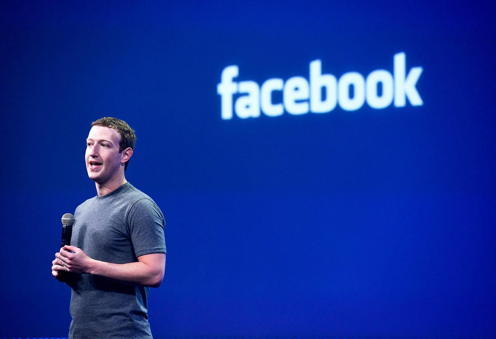 Mark Zuckerberg, fundador do Facebook. (via Getty Images)