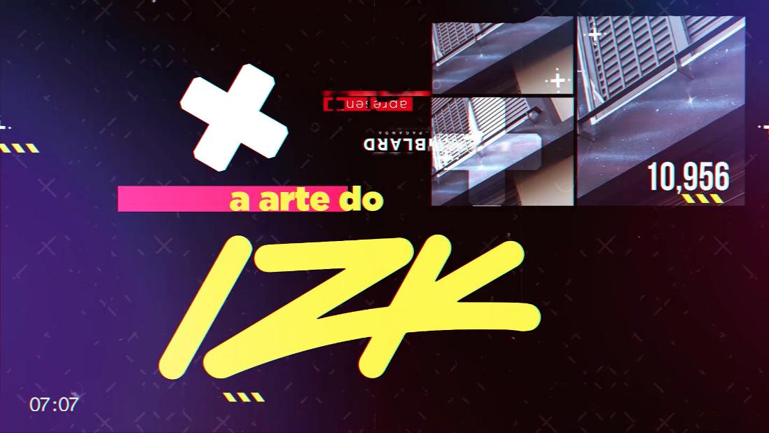Na imagem, a arte de IZK, street ink criado para a Amblard.