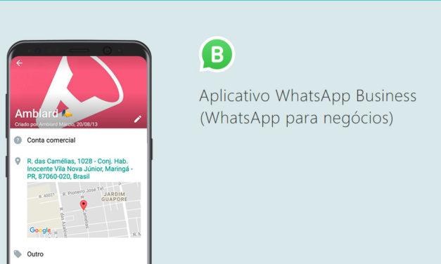 O Whatsapp Business chegou e vai mudar a vida de muita empresa por aí!