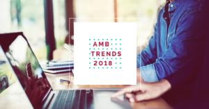 Na imagem, o ebook amblard AMB Trends 2018.