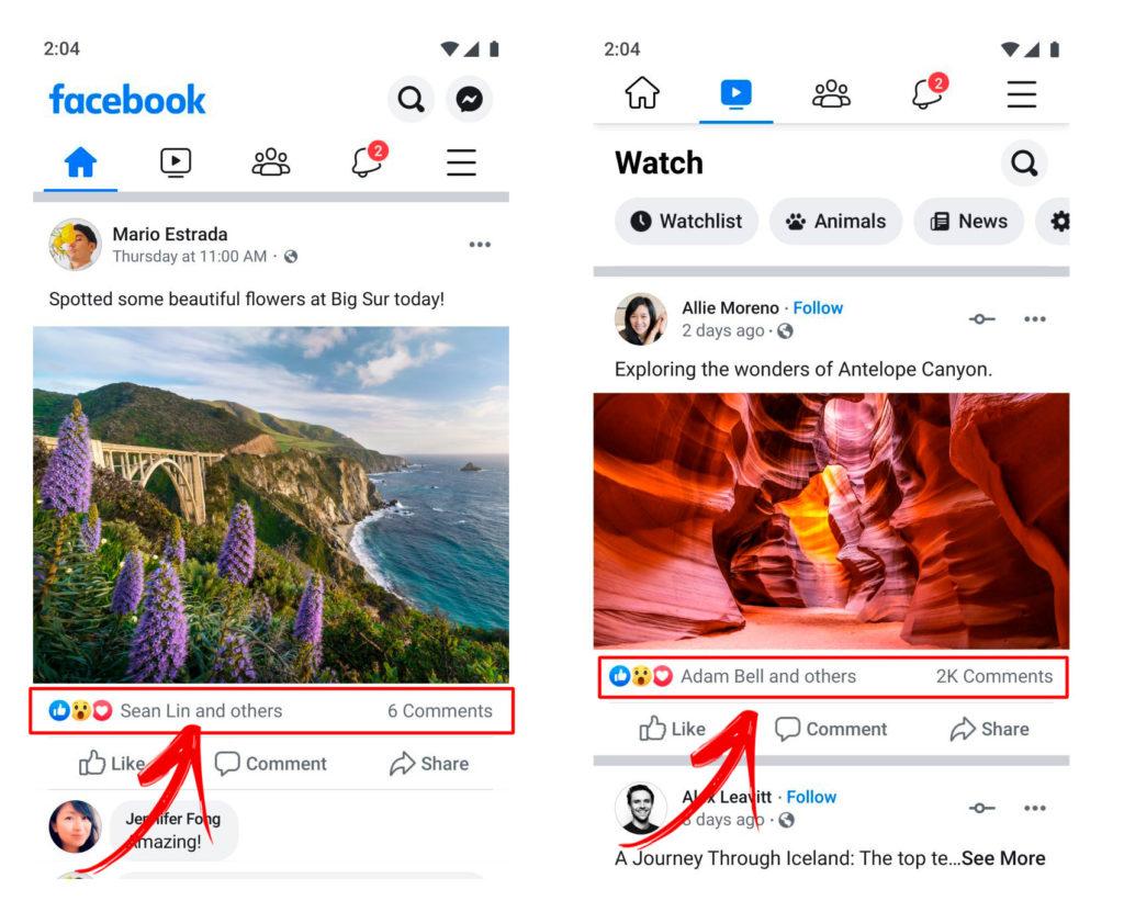 Facebook sem ikes - curtidas ocultas